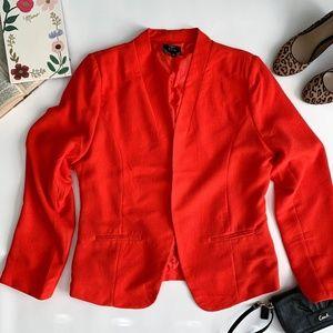 Perch by Blu Pepper Plus Size Red Blazer